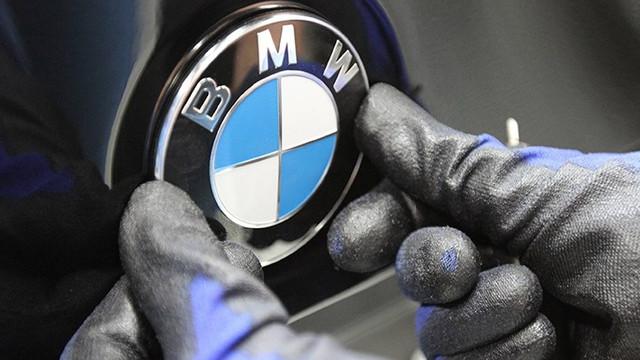 BMW de üretimi durdurdu