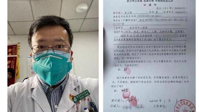Çinli yetkililer o doktorun ailesinden özür diledi