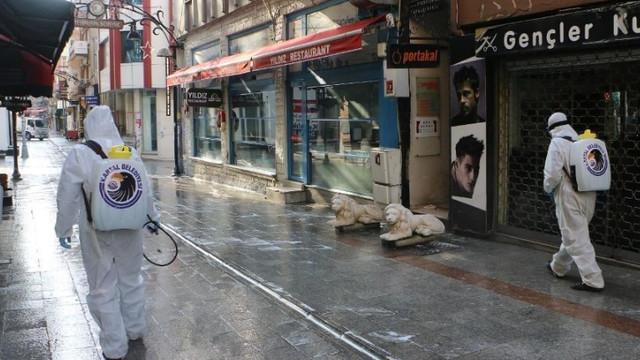 Kartal Belediyesi'nin koronavirüsü ile etkin mücadelesi devam ediyor