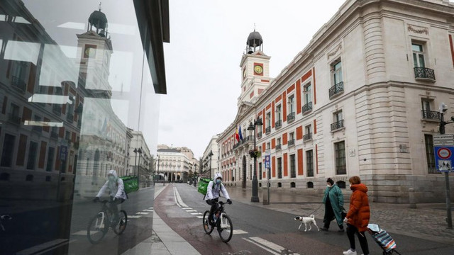 İspanya'da ölü sayısı 2 bini aştı