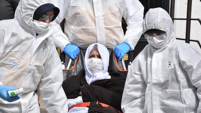 Sivas'ta yaşlı çifte koronavirüs karantinası