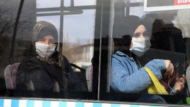 Farkedildiği an otobüsten indirdiler !