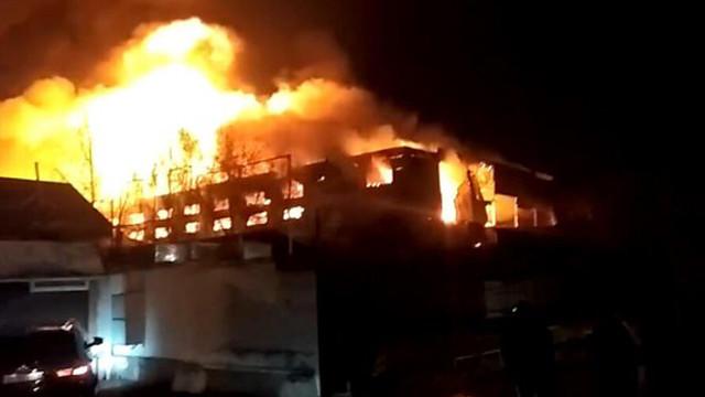Rusya'da yangın faciası: 7 ölü
