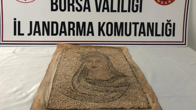 Tarihi eser kaçakçılarına suçüstü