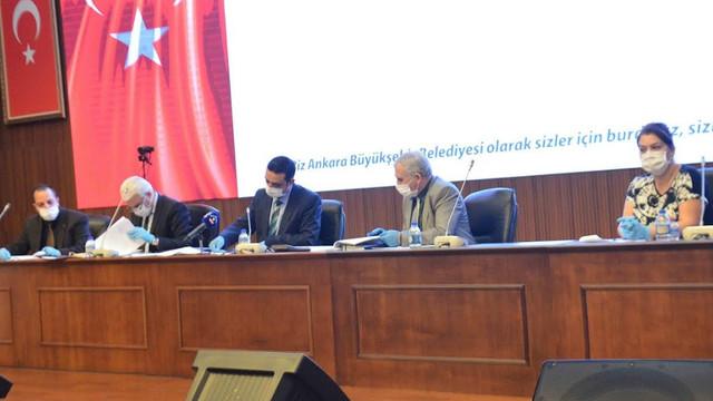 Ankara Büyükşehir ihalelerinde de sosyal mesafe önlemi
