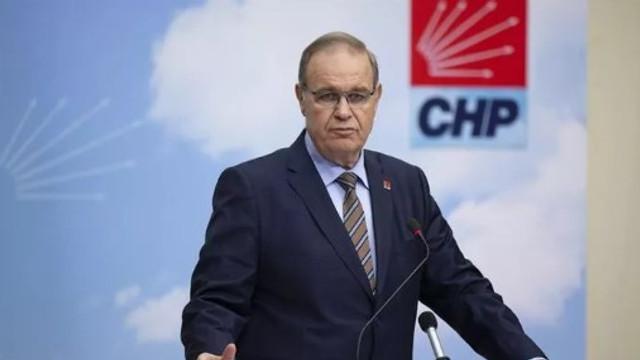 CHP Parti Sözcüsü'ndan koronavirüs açıklaması