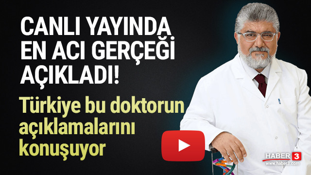 Türkiye Dr. Savaş'ın bu açıklamalarını konuşuyor
