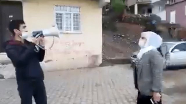 Sokaklarda anons yaptıran HDP'li vekile soruşturma
