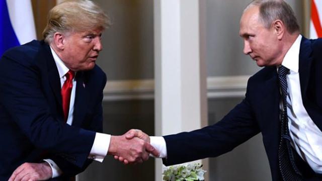 Trump Putin'in ''BM'' teklifini kabul etti