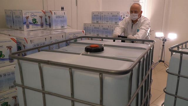 Sabancı Holding, 10 ton dezenfektan bağışladı