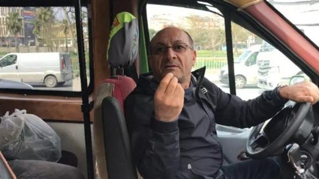 İstanbul'da toplu taşıma denetiminde ilginç diyalog