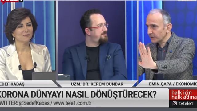 Canlı yayında ''koronavirüsün İstanbul'daki merkez üssü'' iddiası
