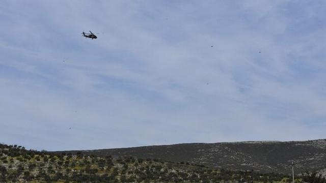 Suriye sınırında helikopterler havalandı!