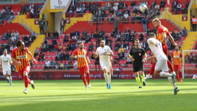 Kayserispor 6 maçtır yenilmiyor