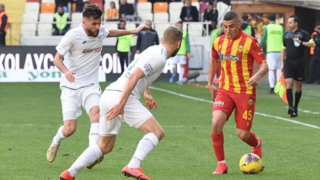 ÖZET   Yeni Malatyaspor-Konyaspor maç sonucu: 1-1