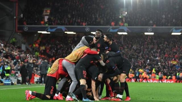 Atletico Madrid, Liverpool'u eleyerek Şampiyonlar Ligi'nde çeyrek finale kaldı