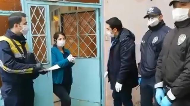 PTT'ler kapatıldıktan sonra yardımlar evlere teslim ediliyor!