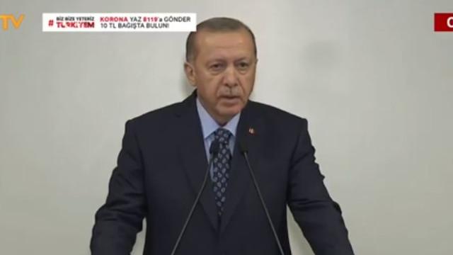 Erdoğan 4 maddelik yeni koronavirüs tedbirlerini açıkladı!