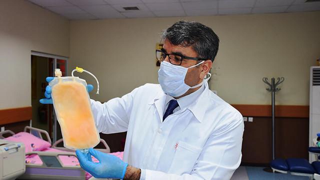 Çin'den sonra dünyada ilk plazma tedavisi Malatya'da yapıldı