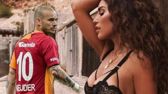 Yolanthe Cabau ve Sneijder arasında gerginlik bitmiyor!