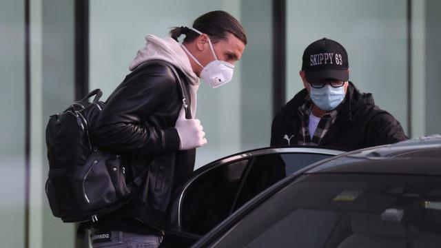 Zlatan Ibrahimovic İtalya'ya döndü, karantinaya alındı!