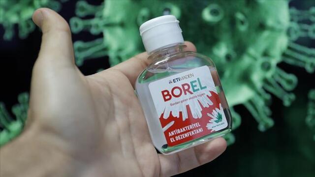 Bor katkılı el dezenfektanı BOREL, rekor satışa ulaştı