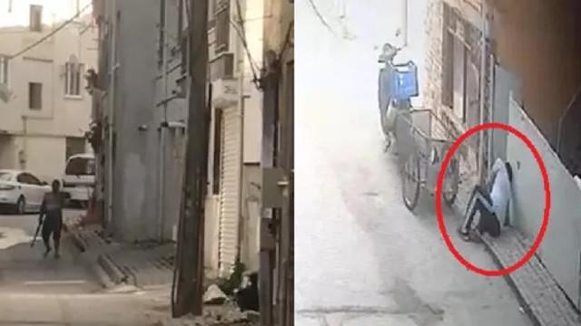 Yasağa rağmen sokak ortasında dehşet saçtı!
