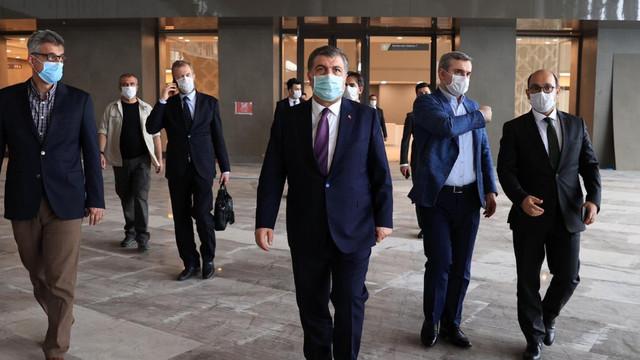 Bakan Koca: ''Başakşehir Şehir Hastanesi açılıyor