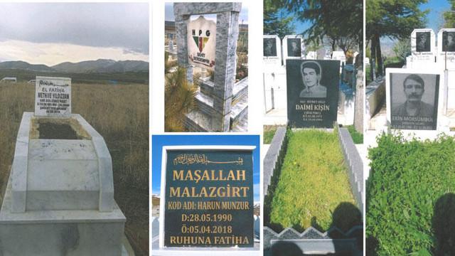 Bakanlıktan terörist mezarlarının tahrip edildiği iddiasına açıklama
