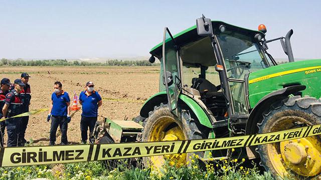 Aksaray'da traktörün altında kalan çiftçi hayatını kaybetti