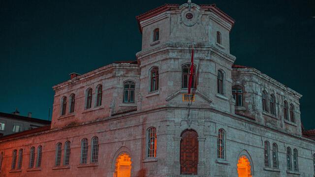 Sivas'ta 112 yıllık jandarma binasında restore çalışmaları