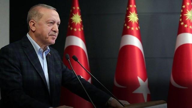 Cumhurbaşkanı Erdoğan'dan gençlere mesaj:  ''Asla vazgeçmeyin''