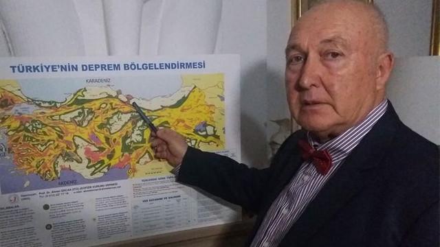 Prof. Dr. Ahmet Ercan 5 ilimize deprem uyarısı!