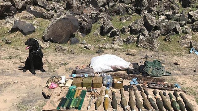 Ağrı Dağı'nda PKK'lı teröristlere ağır darbe!