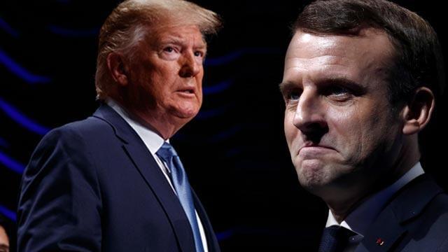 Trump ve Macron'dan kritik görüşme!
