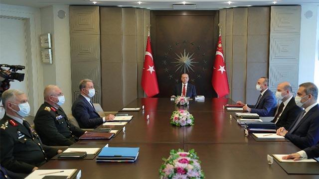 Cumhurbaşkanı Erdoğan başkanlığında kritik güvenlik toplantısı!