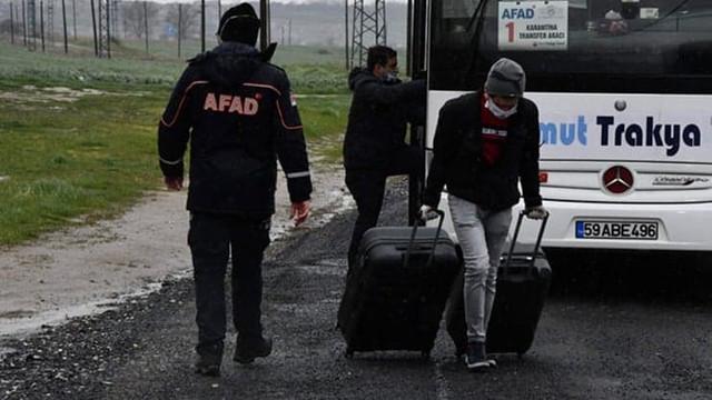 Yurtlarda karantinadaki 66 bin kişi tahliye edildi