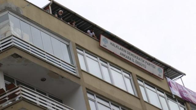HDP Ankara İl Eş Başkanı gözaltında