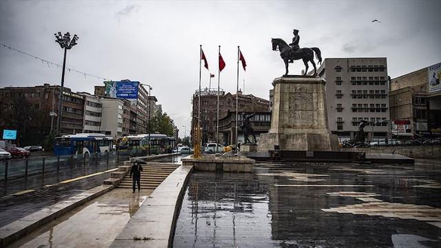 Ankara Valiliği'nden Başkent için sarı alarm