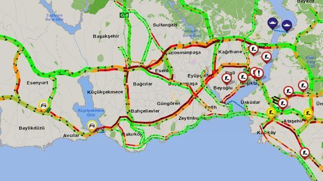 İstanbul trafiği, koronavirüs sonrası en yoğun anlarını yaşıyor