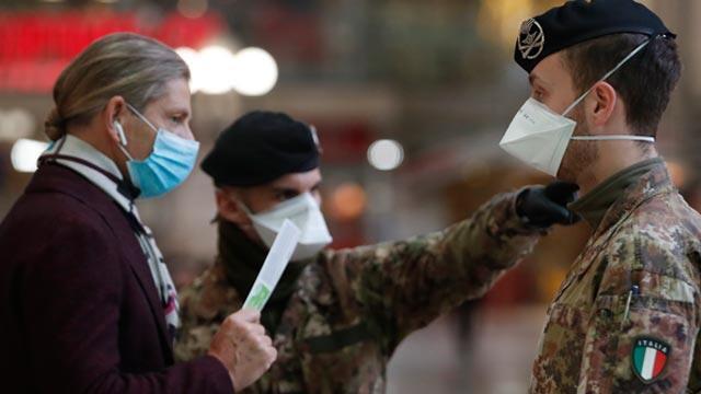 İtalya'da son 24 saatte 156 kişi daha koronavirüsten öldü