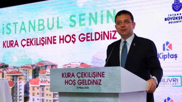 İmamoğlu'ndan İstanbullulara ''asgari ücretle ev sahibi olma'' müjdesi