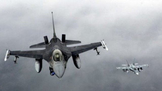 F16'lar Rus uçaklarını takip etti!