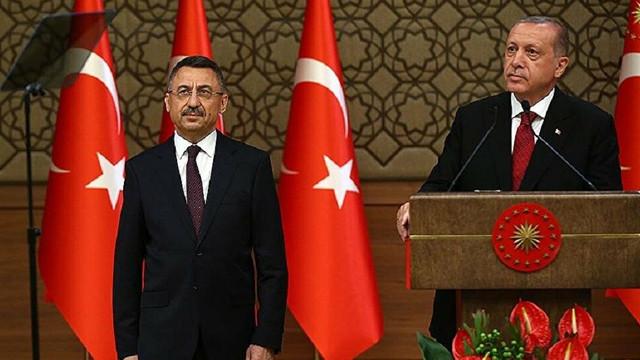 Erdoğan açıkladı, Fuat Oktay ''görev ve yetki alanında değil'' dedi