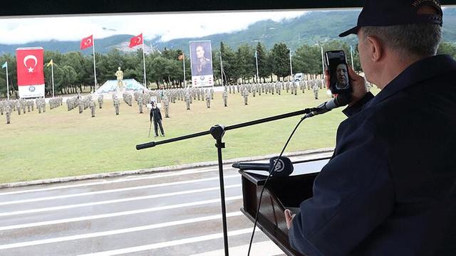 Erdoğan'dan Mehmetçiğe bayram kutlaması