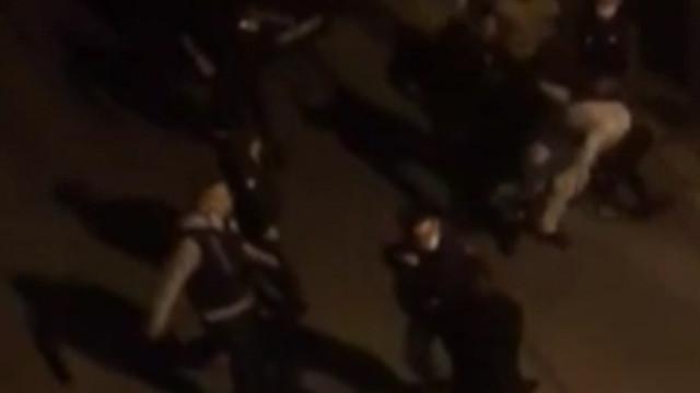 İstanbul'da ekmek almaya çıkan vatandaşa polis dayağı!