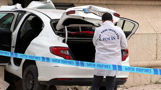 Polisin ''dur'' ihtarına uymayınca sonu feci bitti
