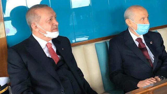 Erdoğan ve Bahçeli aylar sonra bir araya geldi