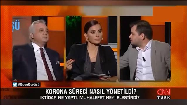 CNN Türk'teki canlı yayın karıştı!