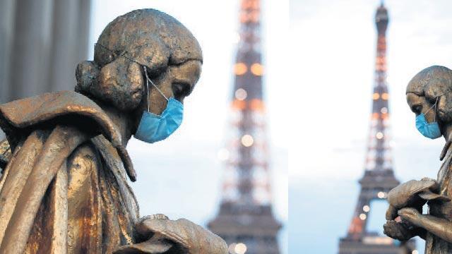 Fransada koronavirüsten ölenlerin sayısı 224 bin 70'e ulaştı
